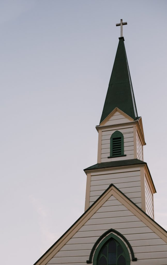 architectural-photography-of-white-and-green-church-bell-792554-646x1024